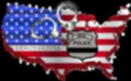 Hero's Hustle virtual race medal (COPS charity)