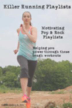 woman running, motivating running playlists