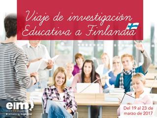 Viaje de investigación educativa a Finlandia