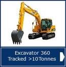 Excavator Tracked >10T NPORS - AMTrainingHebrides