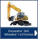 Excavator Wheeled >10T NPORS - AMTrainingHebrides