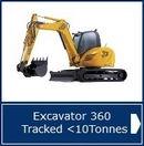 Excavator Tracked <10T NPORS - AMTrainingHebrides