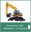 Excavator Wheeled >10T CPCS - AMTrainingHebrides