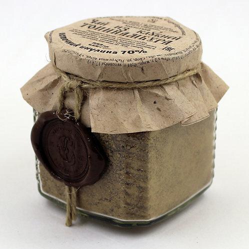 Чай из клубней Топинамбура молотый с цикорием и кардамоном в банке (200 гр)