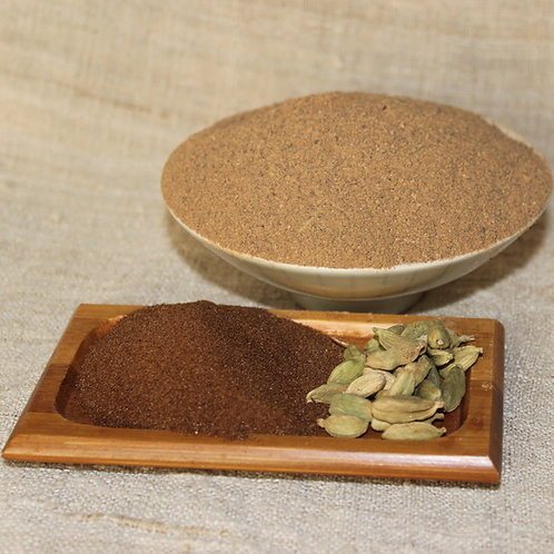 Чай из клубней Топинамбура молотый с цикорием и кардамоном (100 гр)