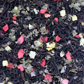 Иван-чай Клубничное наслаждение листовой. Купить иван-чай с клубникой