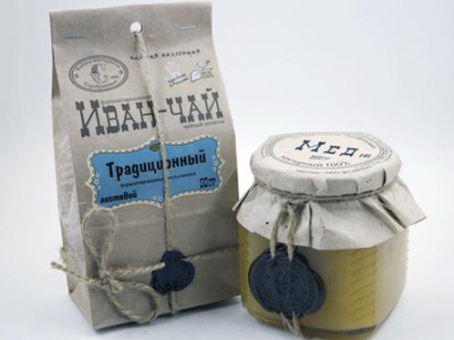 Мед + иван-чай