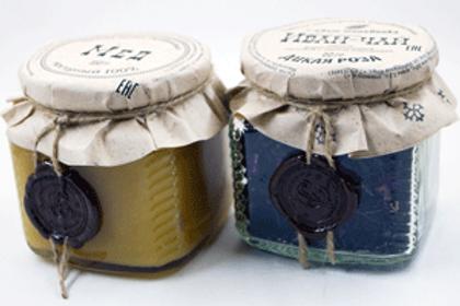 Мед + иван-чай в баночках