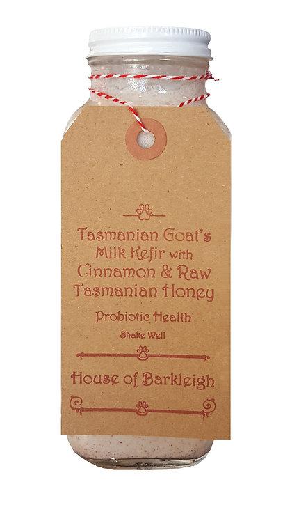Tasmanian Goat's Milk Kefir with Cinnamon & Raw Tasmanian Honey