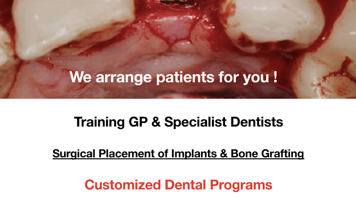 7-Day Surgical Implant Residency- Initial Deposit Only
