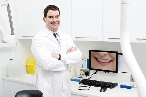 Dentist Consultation Hub with white jack