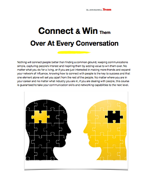 Connect & Win Them at Every Conversation. Speaker Allen Nazeri, The Leadership & Management Expert