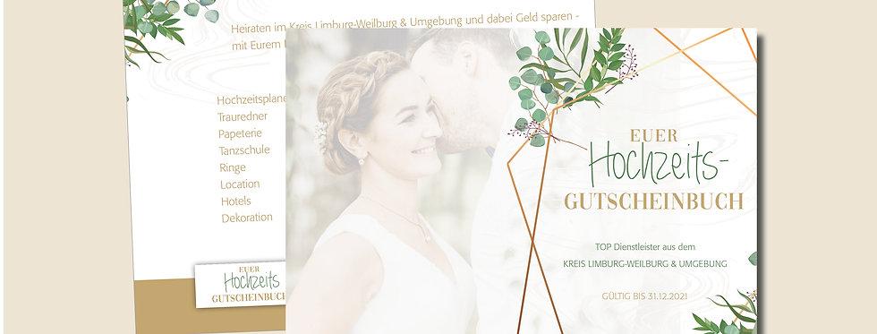 Euer Hochzeits-Gutscheinbuch für den Kreis Limburg-Weilburg & Umgebung