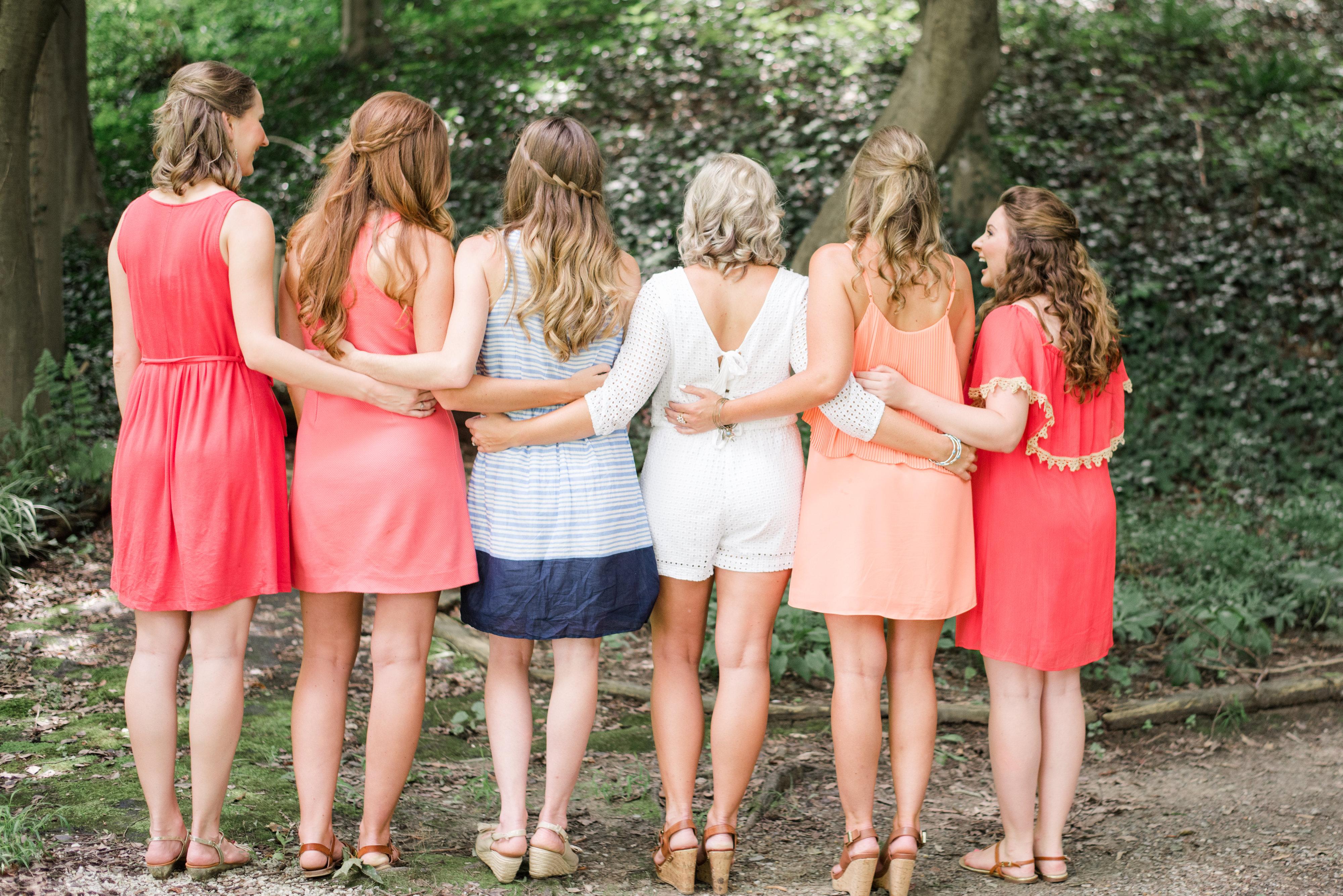 Strawberry Lemonade Bridal Shower-The Girls-0033