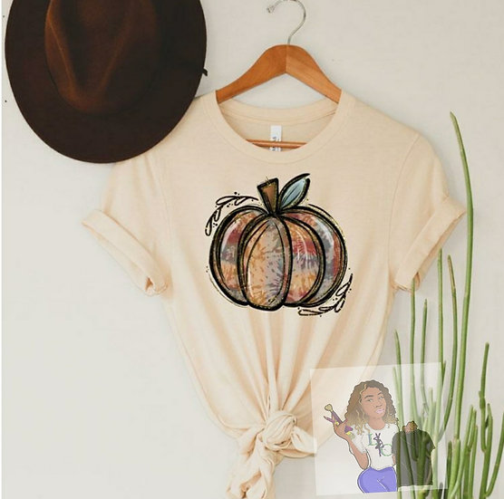 Tie Dye Pumpkin