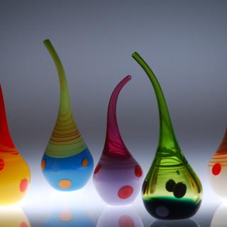 Les vases flûtes