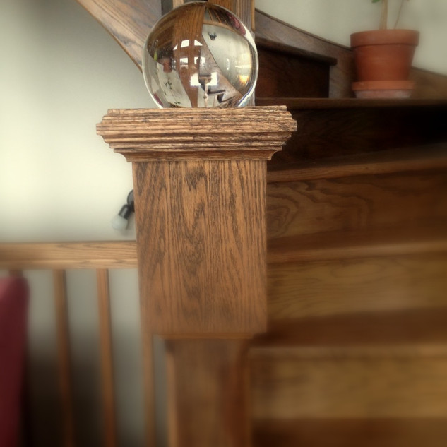 Boule d'escalier