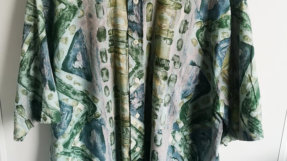 vintage artistic green