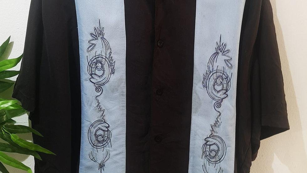 camisa 90' vintage