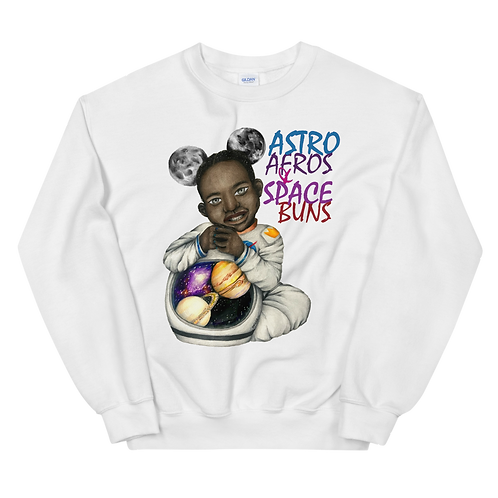Space Buns Unisex Sweatshirt