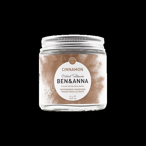 Ben&Anna - Zahnpuder Cinnamon