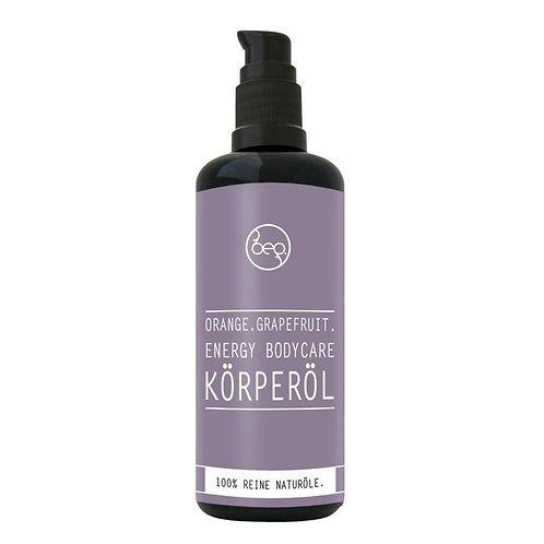 Bepure - Körperöl Energy Bodycare Orange Grapefruit