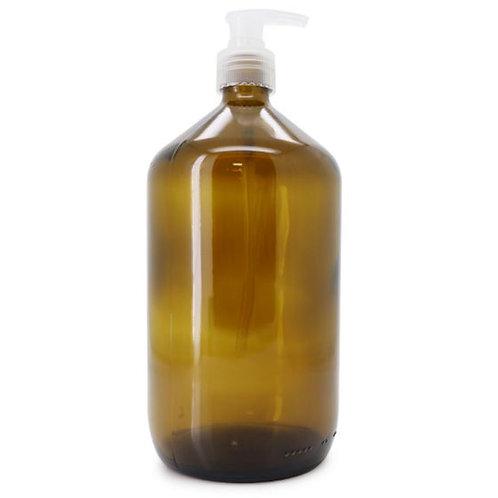 Caring Cherry - Glas Pumpflasche transparent