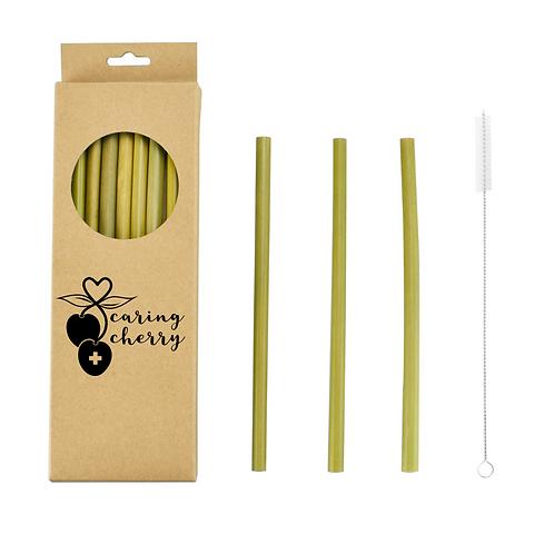 Caring Cherry - Bambus Strohhalme