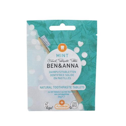 Ben&Anna - Zahn Tabletten mit Fluorid (100 Stück)