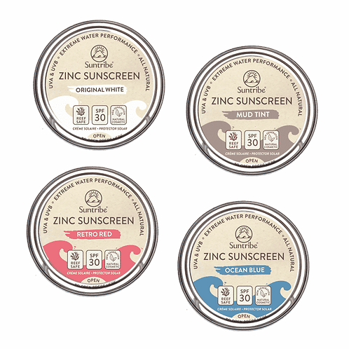 Zinc Sunscreen Gesicht & Sport Tinted SPF 30