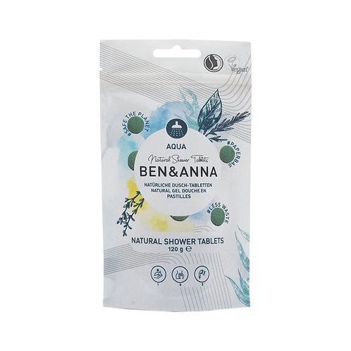 Ben&Anna - Dusch Tabletten Aqua (24 Stück)