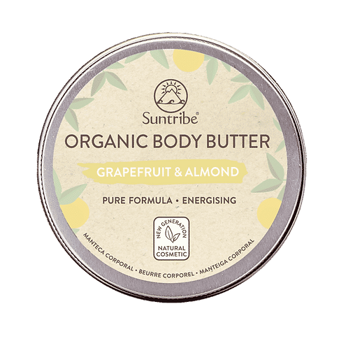 Organic Body Butter Grapefruit & Almond