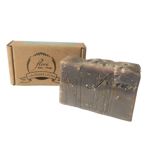Flora Naturpflege - Lavendelminz Seife