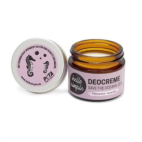 Hello Simple - Deocreme Palmarosa Lavendel