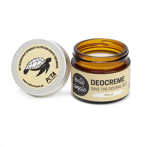 Hello Simple - Deocreme Natural