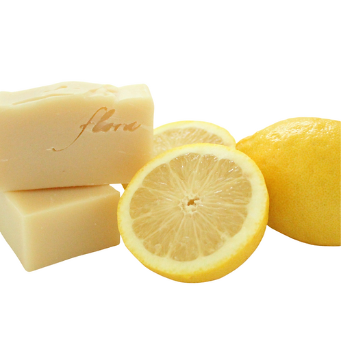 Flora Naturpflege - Zitronen Haarseife