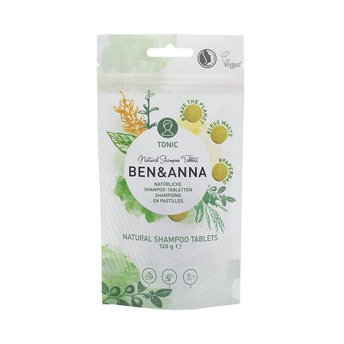 Ben&Anna - Shampoo Tabletten Tonic (24 Stück)
