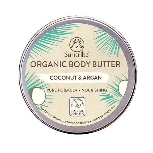 Suntribe - Organic Body Butter Coconut & Argan