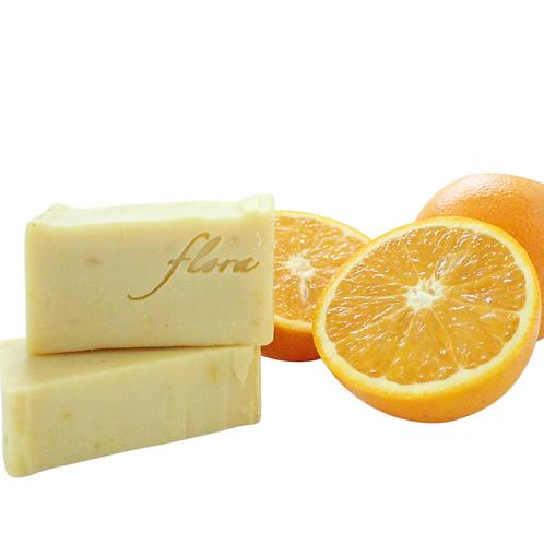 Flora Naturpflege - Orangen Seife