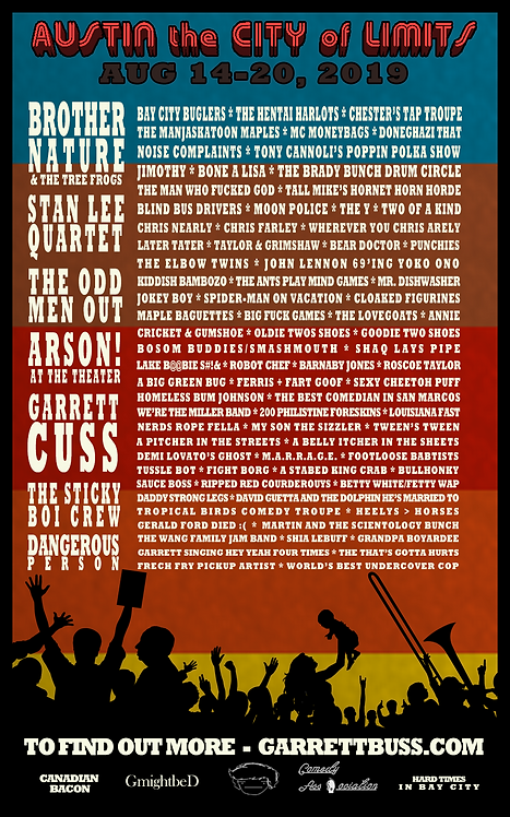 Austin the CIty of Limits Poster