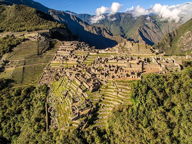 Machu Picchu like never been seen before! The site of an ancient Inca city, high in the Andes of #Pe