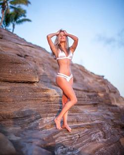 Fitness photo shoot for Amber before #Stingrey ._🏃♀️_ __alohaambz