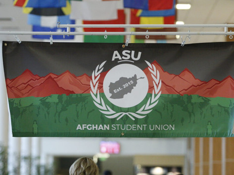 """""""New Happiness"""": Afghan Student Union Shares Nowruz with the Community"""