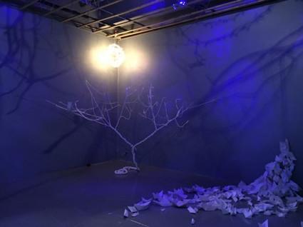 Rebeca Medina's Paraiso @ Five Myles Gallery