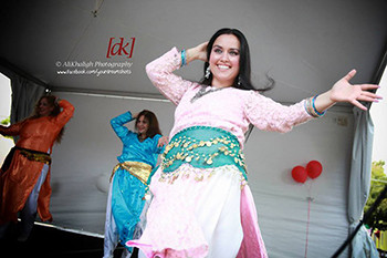 Nomad Dancers featuring dancer, Sema, performing Bandari at the Turkish Festival in Washington, DC. Photo by AliKhaligh Photography.