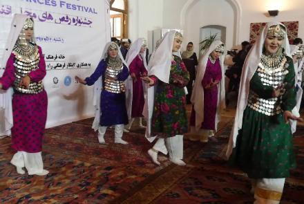Kabul Dance Festival Aims To Revive Dying Art