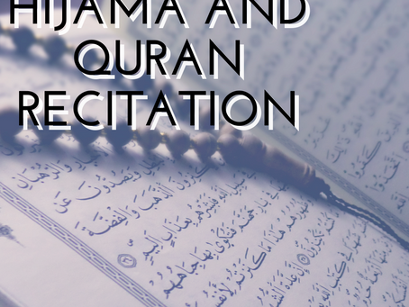 Hijama and the Quran recitation