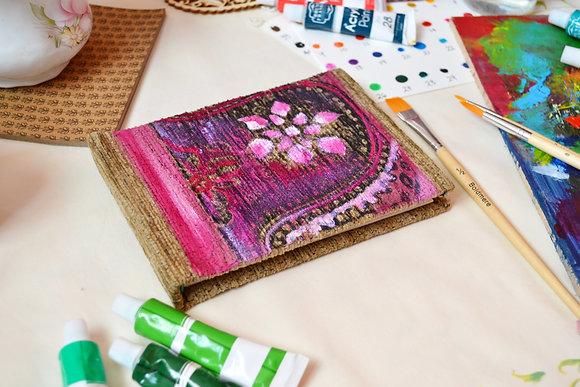 Pink Design Handmade Sketchbook