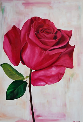 Floral Painting 'Rose'