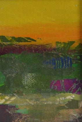 Mini Abstract Landscape 'Desert'